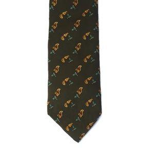Brooks Brothers Squirrel Silk Tie